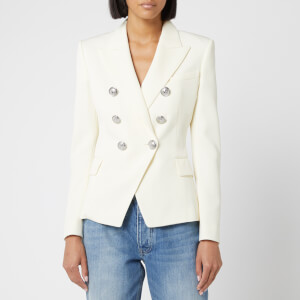 Balmain Women's 6 Button Jacket - Natural
