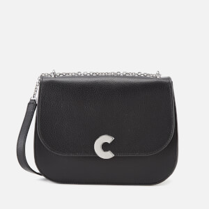 Coccinelle Women's Craquante Cross Body Bag - Black