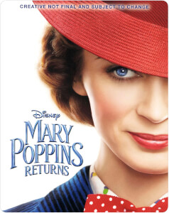 Mary Poppins Rückkehr 4K Ultra HD (Inkl. 2D Blu-ray) - Zavvi UK Exklusives Limited Edition SteelBook