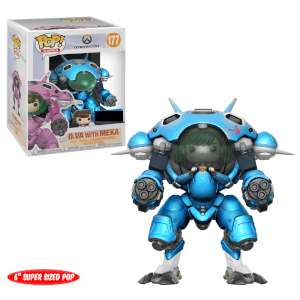 Figura Funko Pop! - D.va con Mecha Blueberry EXC - Overwatch