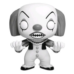 IT Pennywise (Classic Black & White) EXC Pop! Vinyl Figure