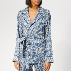 Victoria, Victoria Beckham Women's Pyjama Shirt - Cornflower