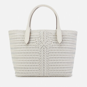 Anya Hindmarch Women's The Neeson Calf Leather Tote Bag - Chalk