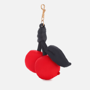 Anya Hindmarch Women's Chubby Cherries Charm - Flame Red/Marine