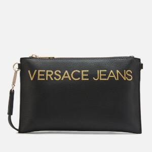 Versace Jeans Women's Logo Pouch - Black