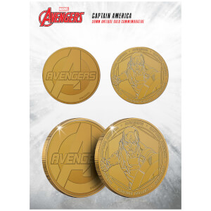 Marvel Captain America Collectible Evergreen Commemorative Coin