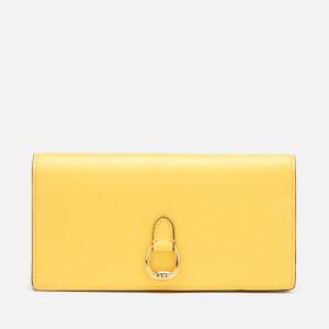 Lauren Ralph Lauren Women's Bennington Saffiano Slim Wallet - Lemon Sorbet
