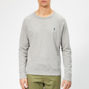 Polo Ralph Lauren Men's Towelling Lightweight Sweatshirt - Andover Heather