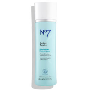 Boots No.7 Radiant Results Revitalising Toning Water 6.7oz