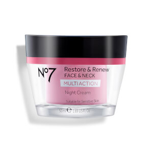Boots No.7 Restore and Renew Multi Action Night Cream 1.69oz