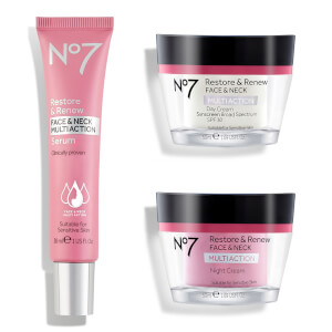 Boots No.7 Restore and Renew Multi Action Skincare System 50oz (Worth $88)