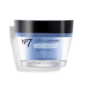 No7 Lift and Luminate Triple Action Night Cream 1.69oz