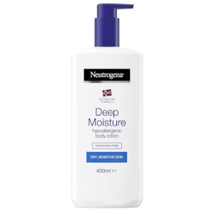 Deep Moisture Hypoallergenic Body Lotion Dry Skin 400ml