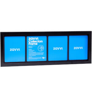 3D Black Collectors Frame with Black Mount 20x60cm