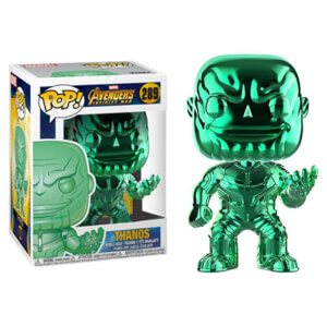 Marvel Thanos Green Chrome EXC Pop! Vinyl Figure