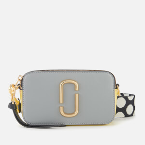 Marc Jacobs Women's Snapshot Bag - Rock Grey Multi