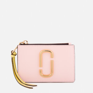 Marc Jacobs Women's Top Zip Multi Wallet - Blush Multi