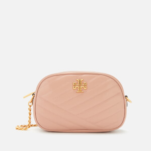 Tory Burch Women's Kira Chevron Camera Bag - Pink Moon
