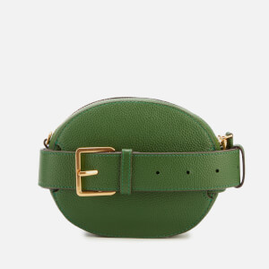 Tory Burch Women's Mcgraw Convertible Round Cross Body Bag - Arugula: Image 2