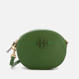 Tory Burch Women's Mcgraw Convertible Round Cross Body Bag - Arugula: Image 1