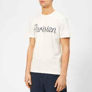 Maison Kitsuné Men's Parisien T-Shirt - Latte