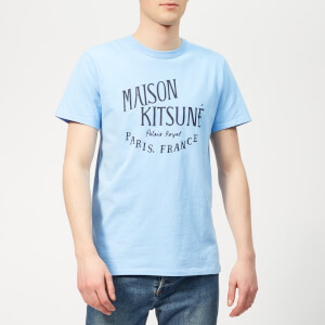 Maison Kitsuné Men's Palais Royal T-Shirt - Light Blue
