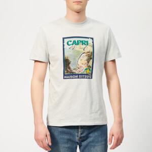 Maison Kitsuné Men's Locandina T-Shirt - Grey