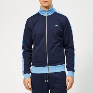 Maison Kitsuné Men's Technical Zipped Sweatshirt - Navy