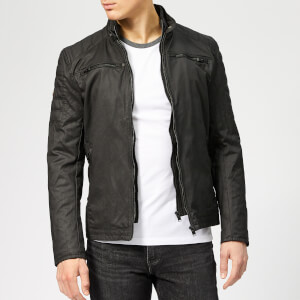 Superdry Men's Carbon Biker Jacket - Black