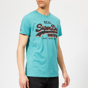 Superdry Men's Panel Light T-Shirt - Aquamarine
