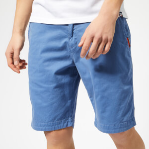 Superdry Men's Slim Chinos Shorts - Neptune Blue
