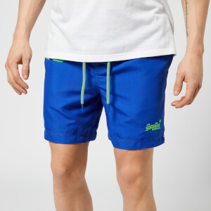 Superdry Men's Waterpolo Swim Shorts - Cobalt