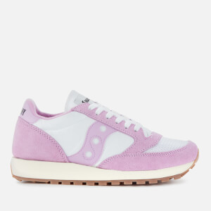 Saucony Women's Jazz Original Vintage Trainers - Purple/White