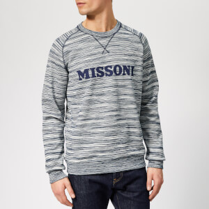 Missoni Men's Stripe Sweatshirt - Blue Stripe