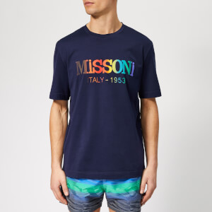 Missoni Men's Logo T-Shirt - Blue