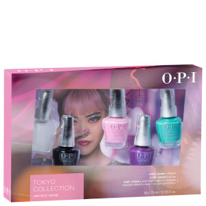 OPI Tokyo Collection Infinite Shine Mini Nail Varnish Set (Set of 5)