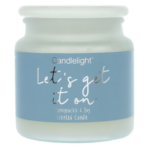 Candlelight 'Let's Get it On' Frosted Jar Candle