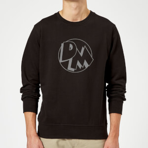 Danger Mouse Initials Sweatshirt - Black