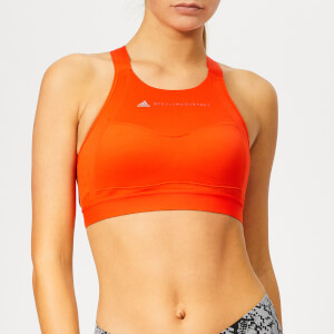 adidas by Stella McCartney Women's Essential Bra - Bold Orange