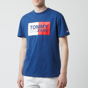 Tommy Jeans Men's Essential Split Box T-Shirt - Limoges