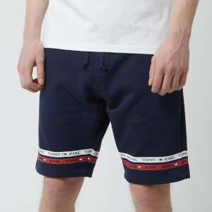 Tommy Jeans Men's Stripe Shorts - Navy