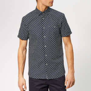 Ted Baker Men's Polarbe Short Sleeve Shirt - Navy