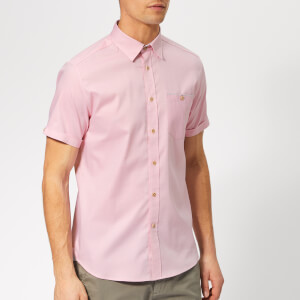Ted Baker Men's Wallabi Short Sleeve Shirt - Pink