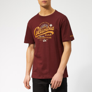 Columbia Men's Leathan Trail Short Sleeve T-Shirt - Tapestry