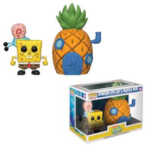 Figurine Funko Pop! Town - Bob L'Eponge Carré avec Ananas