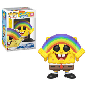 SpongeBob S3 - Spongebob with Rainbow Animation Funko Pop! Vinyl