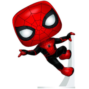 Marvel Spider-Man Far From Home - Spider-Man mit upgraded Hosenanzug Pop! Vinyl Figur