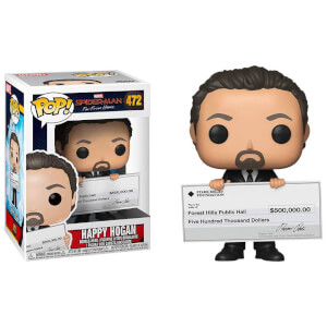Spider-Man Far From Happy Hogan Figura Pop! Vinyl