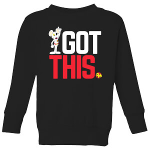 Danger Mouse I Got This Kids' Sweatshirt - Black