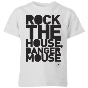 Danger Mouse Rock The House Kids' T-Shirt - Grey